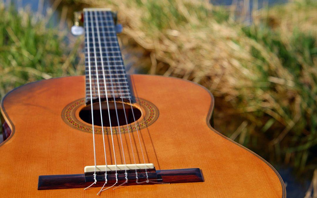 Les différents types de guitares